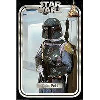 Pyramid Star Wars Boba Fett Retro Packaging Poster 61x91,5cm