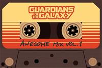 Pyramid Guardians of the Galaxy Awesome Mix Vol 1 Poster 91,5x61cm