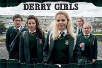 Pyramid Derry Girls Rip Poster 91,5x61cm