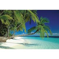 Pyramid Maldives Beach Poster 91,5x61cm