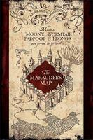 Pyramid Harry Potter The Marauders Map Poster 61x91,5cm
