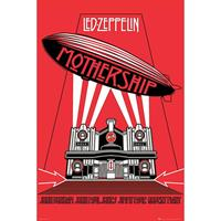Pyramid Led Zeppelin Mothership Red Poster 61x91,5cm