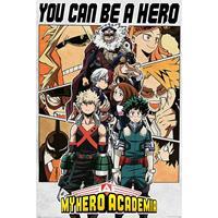 Pyramid My Hero Academia Be a Hero Poster 61x91,5cm