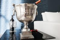 Champagnekoeler 40 cm zilver