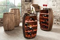 Wijnrek Bordeaux 60 cm koffie