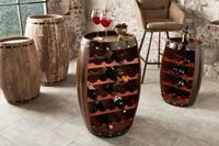 Wijnrek Bordeaux 80cm koffie