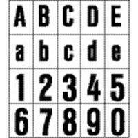 rzb 99223.003.2 Huisnummerbord Ziffer 2,120mm