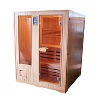 badstuber Helsinki Finse sauna 152x152cm 3 persoons
