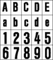 rzb 99223.003.1 Huisnummerbord Ziffer 1,120mm