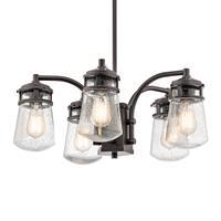 KICHLER Buiten hanglamp Lyndon, 5-lamps