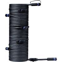 Verlichtingssysteem Plug&Shine 7-voudige verdeler Paulmann 93931 Zwart 24 V