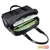 "Leitz Complete 13.3"" Smart Laptop Shopper. Type etui: Aktetas, Maximumafmetingen schermcompatibiliteit: 33,8 cm (13.3""""), Draaghandvat, Schouderband. Gewicht: 750 g. Oppervlakte kleur: Mon"