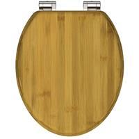 SCHÜTTE Toiletbril DARK BAMBOO