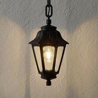 Fumagalli LED hanglamp Sichem Anna 6W 2.700K zwart/helder