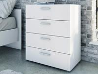 Mobistoxx Commode POPEI 4 lades wit