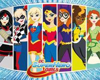 Pyramid DC Super Hero Girls Character Burst Poster 40x50cm