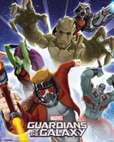 Pyramid Guardians Of The Galaxy Burst Poster 40x50cm