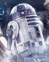 Pyramid Star Wars the Last Jedi R2-D2 Droid Poster 40x50cm