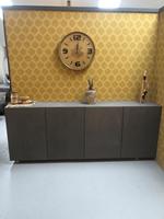 steigerhouttrend Betonlook kast/dressoir Zenda