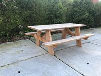 steigerhouttrend Douglashout picknicktafel Kirk