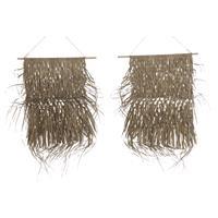 Eigen merk Hangende mat palm blad 65x80cm