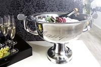 Champagnekoeler Champagne 40cm zilver