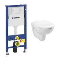 geberit UP100 toiletset met Plieger Basic toilet en standaard zitting
