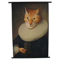 Wanddoek Cat Velvet 83 x 110