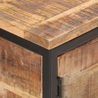 vidaXL Dressoir 85x30x80 cm ruw mangohout