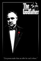 Pyramid The Godfather Red Rose Poster 61x91,5cm