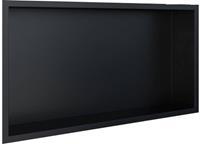 Looox BoX Inbouwnis 62,3x7,5x32,3 cm Mat Zwart