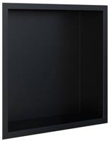 Looox BoX Inbouwnis 32,3x7,5x32,3 cm Mat Zwart