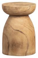 WOOOD Krukje 'Bink' kleur Naturel, Ø28cm