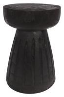 WOOOD Krukje 'Borre' kleur Zwart, Ø28cm