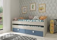 Kajuitbed Jules Smokey Blue