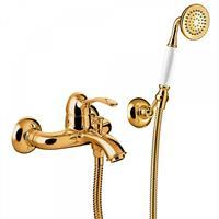 Tres Clasic badmengkraan met handdoucheset één hendel goud