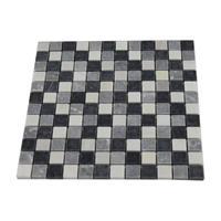 Praxis Progetto mozaïektegel Stone mix antraciet 30x30cm 0,09m²