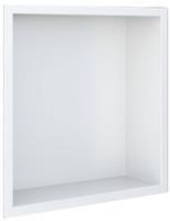 Looox BoX Inbouwnis 32,3x7,5x32,3 cm Wit