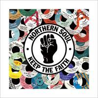 Pyramid Northern Soul Labels Kunstdruk 40x40cm