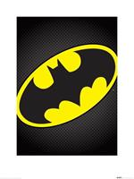 Pyramid DC Comics Batman Symbol Kunstdruk 60x80cm