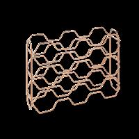 Metaltex Hexagon wijnrek