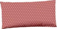 Hip kussenhoes 40 x 80 cm katoen/satijn rood