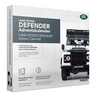 adventkalender Land Rover Defender grijs 24 delig