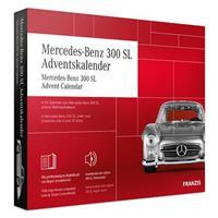 adventkalender Mercedes Benz 300 SL rood 24 delig