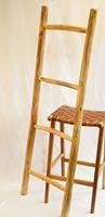NusaOriginals Decoratieve Houten Ladder