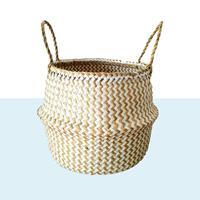 NusaOriginals Bijzondere Handgemaakte Bamboe Mand - Opvouwbaar