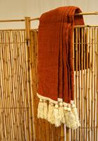 NusaOriginals Handgemaakte Roomdivider van Geel Bamboe