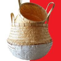 NusaOriginals Traditionele Rice Baskets - set van 2