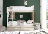 Basic Collectie Daniel Stapelbed Wit