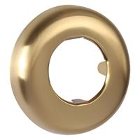 Differnz rozet tbv vloerbuis 32x65x10mm mat goud